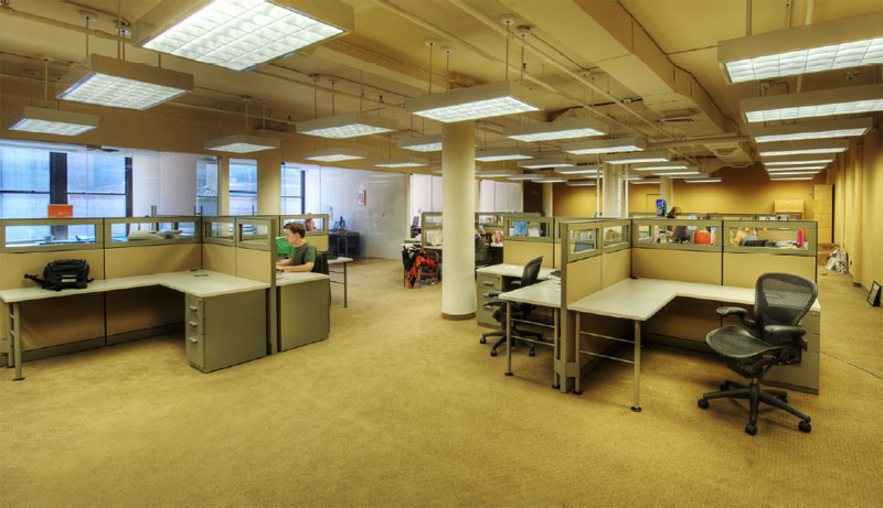 Open Floor Plan Office Furniture: Commercial